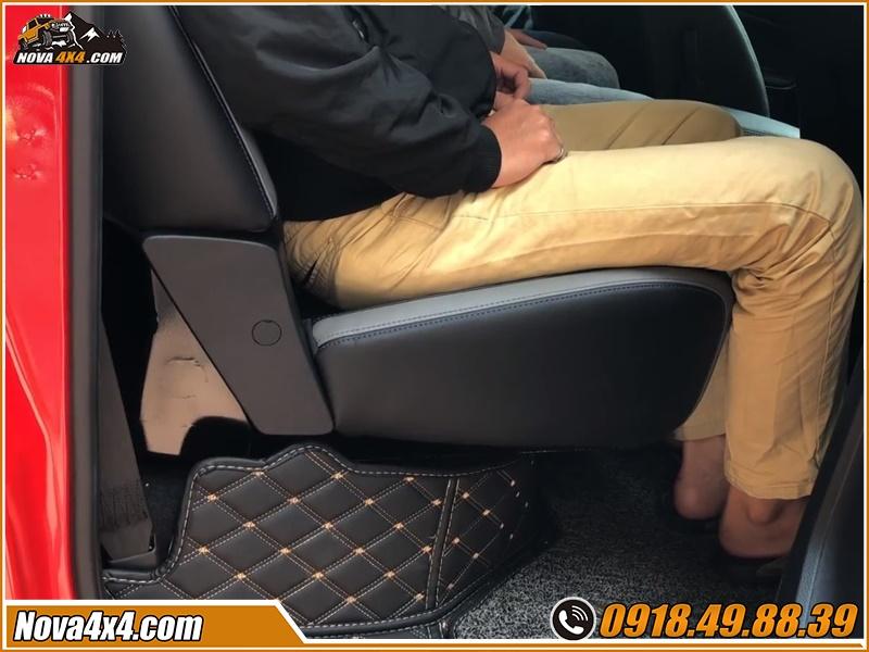 Độ ghế chỉnh điện cho xe bán tải giá rẻ tại HCM