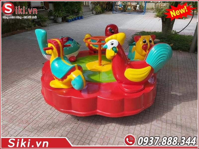 Lợi ích khi cho trẻ nhỏ chơi đu quay trẻ em