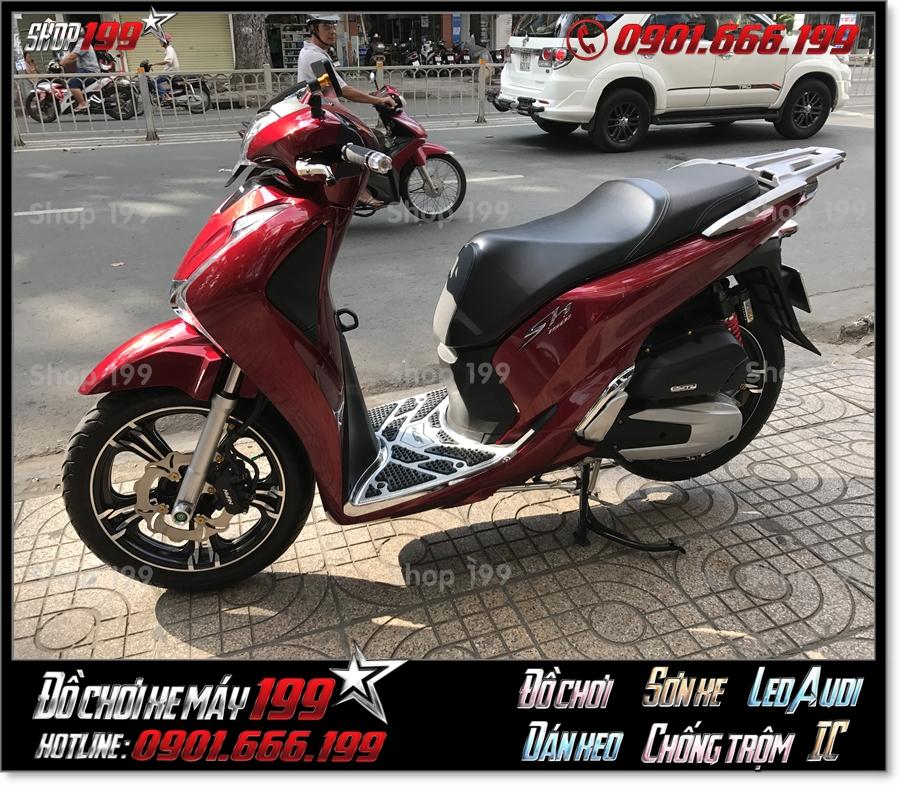 Xem Hình xe Honda SH 125 150 2018 2019 2020 thay bánh mâm kuni cao cấp lên sport phụ tùng trang trí xe 199 HCM