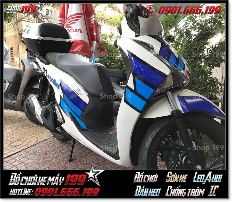 Xem ảnh xe SH 150i/125i 2018 2019 2020 dán decal trong chống trầy giá rẻ ở shop 199