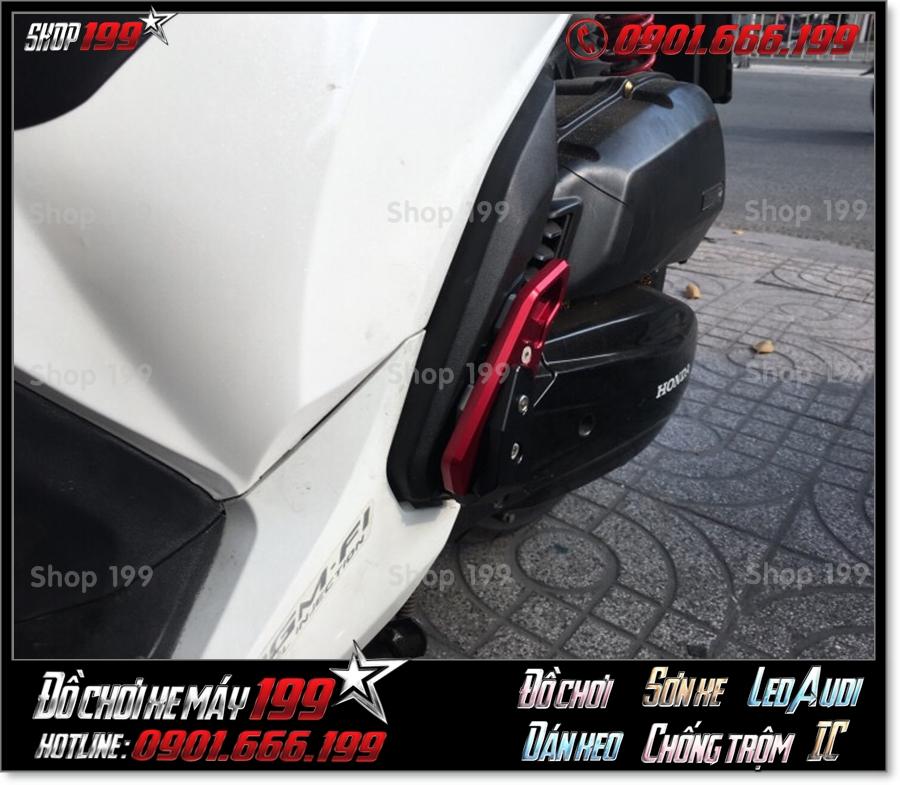Picture of thay gác chân sau Biker nhôm CNC cho Honda SH 150 125 2018 2019 2020 giá rẻ tại shop 199