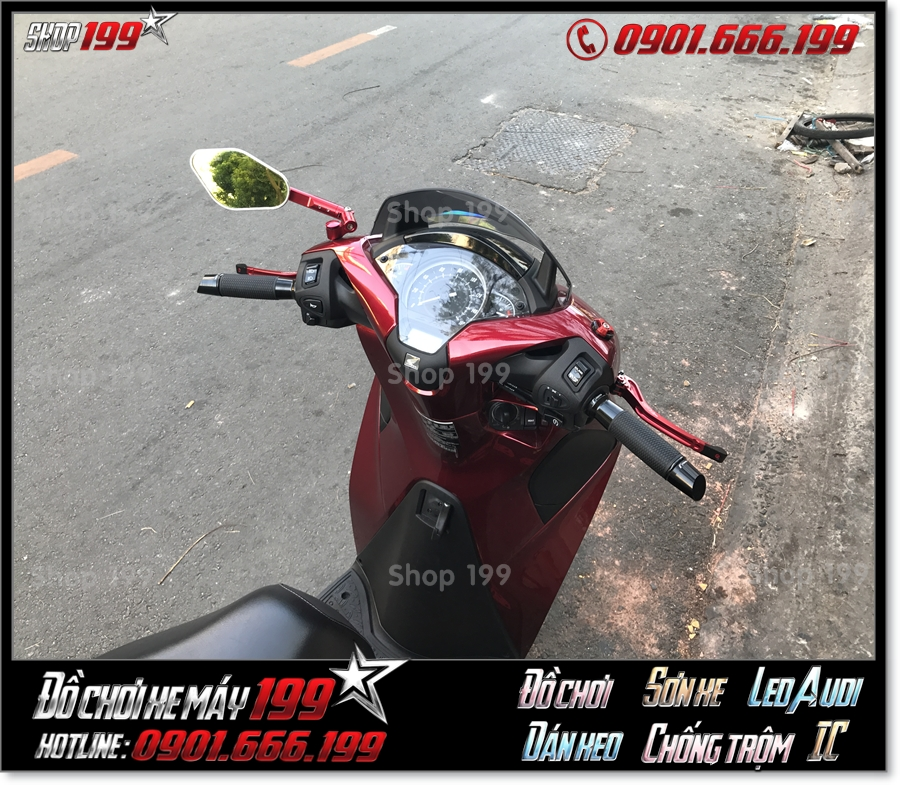 Image xe SH 125 150 2018 2019 2020 độ kính che gió nhập khẩu Thailand đẹp mắt giá rẻ giá rẻ ở 199